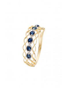 """Boucle d'Oreilles """"Cercle d'or"""" Or jaune 375/1000"""
