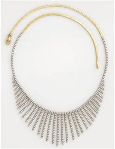 """Boucles d'oreilles """"Noeud tricolore"""""""