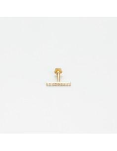 """Bracelet""""Torsade"""" Or jaune 375/1000"""