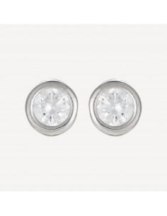 """Bracelet """"Pas à Pas"""" Or blanc 375/1000"""