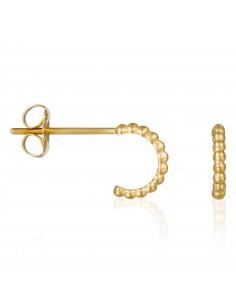 Bracelet bracelet Reconnaissance Or Bicolore 375/1000 Zirconium