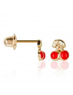 Pendentif Croix Confiance Or Blanc 375/1000 Zirconium