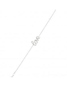 Bracelet Hana Or Bicolore 375/1000