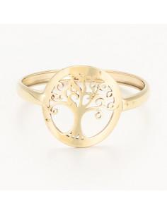 Boucles D'Oreilles alizée Or Blanc 375/1000 Zirconium